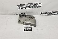 Motorcycle Aluminum Engine Cover Piece BEFORE Chrome-Like Polishing and Buffing - Aluminum Polishing