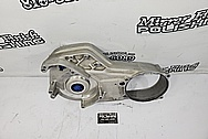 Harley Davidson Aluminum Inner Primary Cover Piece BEFORE Chrome-Like Metal Polishing - Aluminum Polishing