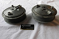 1959 German Moped Parts NSU Quickly TT (59cc) BEFORE Chrome-Like Metal Polishing and Buffing Services
