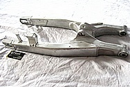 Motorcycle Sport Bike Aluminum Swingarm BEFORE Chrome-Like Metal Polishing and Buffing Services