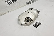 Motorcycle Engine Cover Piece BEFORE Chrome-Like Metal Polishing and Buffing Services / Restoration Services - Aluminum Polishing