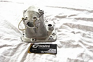 1948 Indian Motorcycle Aluminum Housing BEFORE Chrome-Like Metal Polishing and Buffing Services