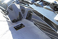Dodge Hemi 6.1L V8 Aluminum Oil Pan AFTER Chrome-Like Metal Polishing and Buffing Services