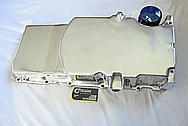 GM LS3 376 Cubic Inch Engine Aluminum Oil Pan AFTER Chrome-Like Metal Polishing and Buffing Services