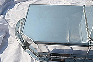 Pontiac V8 Steel Oil Pan AFTER Chrome-Like Metal Polishing and Buffing Services