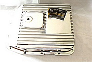 1950 Mercury Lead Sled Aluminum Transmission Oil Pan AFTER Chrome-Like Metal Polishing and Buffing Services / Restoration Services