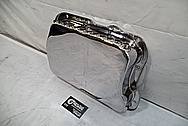 Aluminum Oil Pan AFTER Chrome-Like Metal Polishing and Buffing Services / Restoration Services