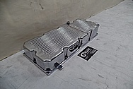 Harley Davidson 5 Speed Motorcycle Aluminum Oil Pan AFTER Chrome-Like Metal Polishing and Buffing Services - Aluminum Polishing Services