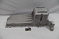Dodge Viper Aluminum Engine Oil Pan BEFORE Chrome-Like Metal Polishing and Buffing Services / Restoration Services