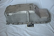 Aluminum V8 Engine Oil Pan BEFORE Chrome-Like Metal Polishing and Buffing Services