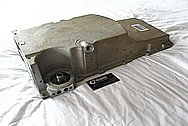 Chevy Camaro LS1 Aluminum V8 Engine Oil Pan BEFORE Chrome-Like Metal Polishing and Buffing Services