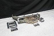 Vintage Gas Pump Nozzle, Bracket, Holder, Etc AFTER Chrome-Like Metal Polishing and Buffing Services / Restoration Services