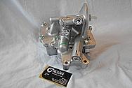 Truck Aluminum Oil Pump BEFORE Chrome-Like Metal Polishing - Aluminum Polishing Services
