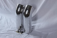Aluminum Intake Pipe System AFTER Chrome-Like Metal Polishing and Buffing Services / Restoration Services