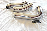 Aluminum Greddy Intercooler Pipes AFTER Chrome-Like Metal Polishing and Buffing Services / Restoration Services