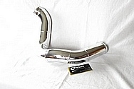 Aluminum Engine Intercooler Pipes AFTER Chrome-Like Metal Polishing and Buffing Services / Restoration Services