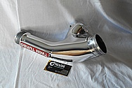Aluminum Pipe AFTER Chrome-Like Metal Polishing and Buffing Services / Restoration Service