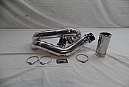 Aluminum Intercooler Pipe / Air Intake Pipe AFTER Chrome-Like Metal Polishing and Buffing Services / Restoration Service