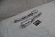 Chevrolet ZR-1 Corvette Aluminum Pipes AFTER Chrome-Like Metal Polishing - Aluminum Pipe Polishing