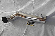 Aluminum Engine Intake Pipe BEFORE Chrome-Like Metal Polishing - Aluminum Polishing