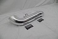 Aluminum Intercooler Pipe AFTER Chrome-Like Metal Polishing - Aluminum Polishing Services