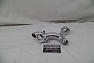 Toyota Supra 1993 - 1998 Aluminum Water Pipe AFTER Chrome-Like Metal Polishing - Aluminum Polishing Services