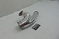 Nissan Skyline RB-26 Engine Aluminum Pipes AFTER Chrome-Like Metal Polishing - Aluminum Polishing Services