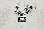 1993 - 1998 Toyota Supra Aluminum Radiator Pipe AFTER Chrome-Like Metal Polishing and Buffing Services