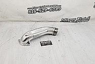 Mazda RX-7 Aluminum Pipe Project AFTER Chrome-Like Metal Polishing and Buffing Services - Aluminum Polishing