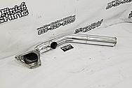 Mazda RX-7 Aluminum Intercooler Piping AFTER Chrome-Like Metal Polishing and Buffing Services - Aluminum Polishing
