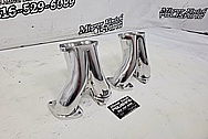 GM Upper Runners / Pipes AFTER Chrome-Like Metal Polishing and Buffing Services - Aluminum Polishing