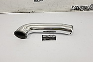 Toyota Supra Aluminum Pipe AFTER Chrome-Like Metal Polishing and Buffing Services - Aluminum Polishing Services - Pipe Polishing
