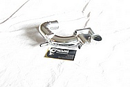 1993 - 1998 Toyota Supra Upper Water Pipe Part AFTER Chrome-Like Metal Polishing and Buffing Services