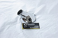 Aluminum V8 Engine Thermostat Housing AFTER Chrome-Like Metal Polishing and Buffing Services