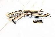 2010 Dodge Viper Aluminum Turbo Piping AFTER Chrome-Like Metal Polishing and Buffing Services