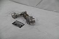 Toyota Supra 1993 - 1998 Aluminum Water Pipe BEFORE Chrome-Like Metal Polishing - Aluminum Polishing Services