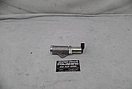 Aluminum Sensor Engine Pipe BEFORE Chrome-Like Metal Polishing - Aluminum Polishing Services