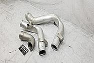 2007 Pontiac Solstice GXP Aluminum Intercooler Pipes BEFORE Chrome-Like Metal Polishing - Aluminum Polishing Services