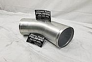Aluminum Intercooler Pipe BEFORE Chrome-Like Metal Polishing and Buffing Services - Aluminum Polishing