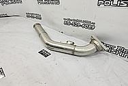 Mazda RX-7 Aluminum Intercooler Piping BEFORE Chrome-Like Metal Polishing and Buffing Services - Aluminum Polishing