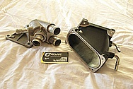 Ford Shelby GT500 Aluminum Piping BEFORE Chrome-Like Metal Polishing and Buffing Services
