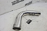 Aluminum Intercooler Pipes BEFORE Chrome-Like Metal Polishing and Buffing Services - Aluminum Polishing