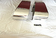 Cast Aluminum Pool Table Corner Pockets, Sides Pockets, Leg Panel and Accessories AFTER Chrome-Like Metal Polishing and Buffing ServicesBuffing Services