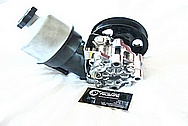 Dodge Hemi 6.1L Engine Aluminum Power Steering Pump AFTER Chrome-Like Metal Polishing and Buffing Services