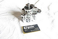 1993 - 1998 Toyota Supra 2JZ-GTE Aluminum Power Steering Pump AFTER Chrome-Like Metal Polishing and Buffing Services