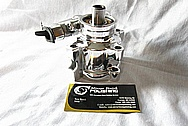 Aluminum Power Steering Pump AFTER Chrome-Like Metal Polishing and Buffing Services / Restoration Services