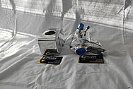 Ford Shelby GT500 Aluminum Power Steering Reservoir Tank AFTER Chrome-Like Metal Polishing - Aluminum Polishing
