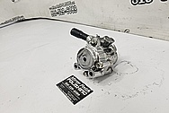Toyota Supra Aluminum Power Steering Pump Parts AFTER Chrome-Like Metal Polishing - Aluminum Polishing - Power Steering Pump Polishing