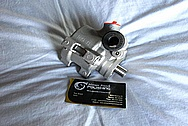 Aluminum Power Steering Pump BEFORE Chrome-Like Metal Polishing and Buffing Services / Restoration Services