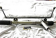 Aluminum Power Steering Rack Assembly / Lines BEFORE Chrome-Like Metal Polishing and Buffing Services / Restoration Services